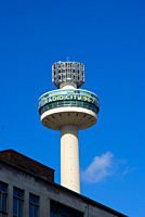England, Merseyside, Liverpool. Radio City Tower, built in 1965 and originally called St John´s Beacon. It used to house a rotating restaurant but is ...