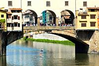 Ponte Vecchio, Florence Firenze, UNESCO World Heritage Site, Tuscany, Italy, Europe