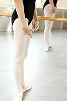 Ballerinas in position