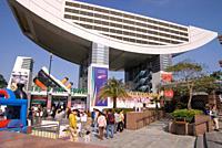 VICTORIA PEAK HONG KONG Peak Tower tram terminal and lookout building