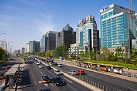 Mansions and Building,Finance Area of Beijing
