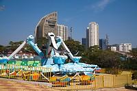 The Scene of the Beach in Dalian