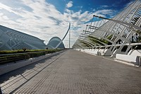Gardens Of The L´umbracle, Valencia, Spain