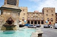 Palacio de Revillagigedo, Plaza del Marqués, Cimadevilla, Gijon  Asturias  Spain.