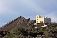 Monte Corona volcano, Bodegas la Torrecilla, Ye, Lanzarote, Canary Islands, Spain, Europe