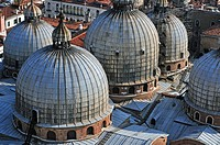 The domes of the Basilica San Marco
