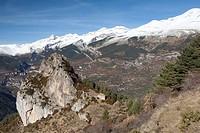 Hermitage of S  Juan and S  Pablo, Tella, National Park of Ordesa and Monte Perdido, Huesca, Spain