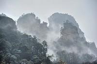 Shilihualang or 10-Mile-Gallery, Zhangjiajie, Hunan, China.