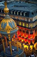 Paris, France, Shopping, Printemps Department Store, Outside, Dusk