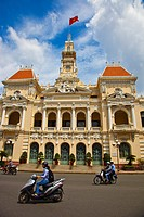 City Hall. Ho Chi Minh City (formerly Saigon). South Vietnam.