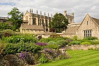 Christ Church College, Cathedral, War Memorial Garden, University of Oxford, Oxfordshire, England, United Kingdom, Europe