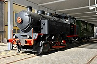 Shipping station, beer transport with a historic steam locomotive from 1957, Pilsner Urquell brewery, Pilsen, Bohemia, Czech Republic, Europe