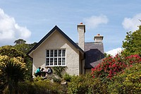 Dinis Cottage near Meeting Of The Waters, Killarney National Park County Kerry, Ireland, British Islands, Europe