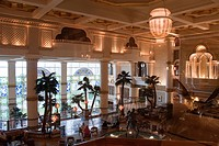Main hall of the Grand Hyatt Muscat, as seen from the business lounge, Muscat, Oman, Middle East