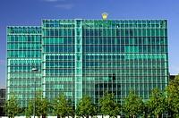 Headquarters of the Swiss watchmaker Rolex SA in Geneva, Switzerland, Europe