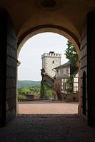 Wartburg Castle, Eisenach, Thuringia, Germany, Europe