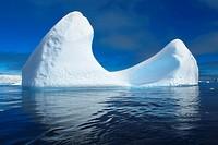 Sculpted Icebergs in Antarctica