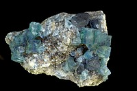 Fluorite and Galena - Rogerley Mine - County Durham - England - UK.