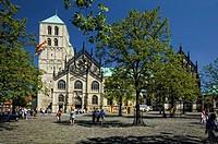 Sankt Paulus Cathedral, Muenster, North Rhine-Westphalia, Germany, Europe
