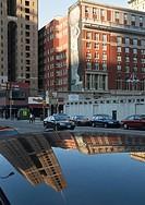 Big poster on building,Philadelphia,Pennsylvania,PA,USA