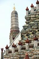 Wat Arun Temple, Bangkok, Thailand, Asia