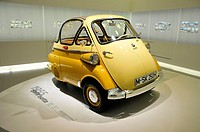 BMW Isetta from 1955, BMW Museum, Munich, Bavaria, Germany, Europe