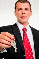 Estate Agents with a home key