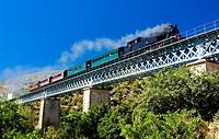 steam train in Douro Valley, Portugal
