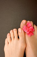 Close-up of woman´s feet