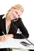 Phone calls and write down