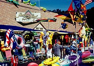 Beach and souvenir shop