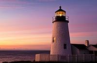Pemaquid Point Light Station, Muscongus Bay, Bristol, Maine, USA  1827