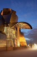 Guggenheim museum, Abandoibarra, Bilbao, Bizkaia, Spain