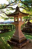 Stone lantern, Takayama, Japan
