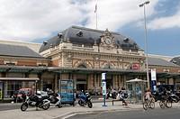 Station, Nice, Cote d'Azur, Provence, France, Europe