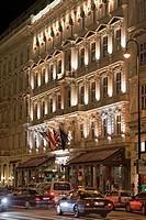 Hotel Sacher, Vienna, Austria, Europe