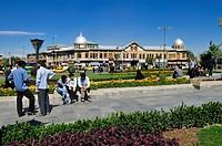 Central square Meidan-e Emam, Imam Khomeini, Hamadan, Hamedan, Iran, Persia, Asia