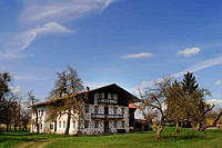 Old Farmers House Chiemsee, Bavaria, Germany
