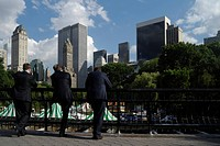 Business People, Central Park, New York