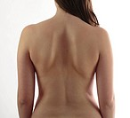 Back of a young woman