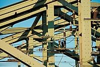 Hohenzollernbruecke bridge, Cologne, North Rhine-Westphalia, Germany, Europe