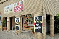 Liquor store, shop with the licence to sell alcoholic drinks, Santa Lucia, South Africa, Africa