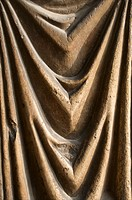 Wood draperies detail  Notre Dame Cathedral Reims Marne 51 France