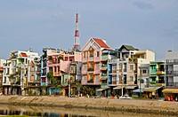 Vietnam, Saigon Ho Chi Minh City the modern city.