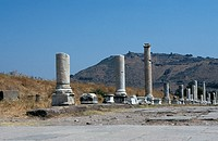 Archeological site _ One of the oldest and most important Greek cities of Asia Minor