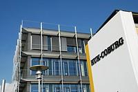 Entrace of the Huk Coburg Insurance Haedquarter