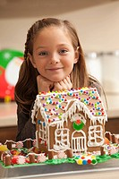 Portrait of girl 6_7 by gingerbread house
