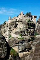 Monastery of Barlaam, Greece. Meteora.
