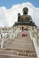Tian Tan Buddha, Lantau Island, Hong Kong, China.