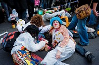 Paris, France, French Anti-Nuclear Groups, Demonstrating Against Nuclear Power, Sortir de Nucleaire